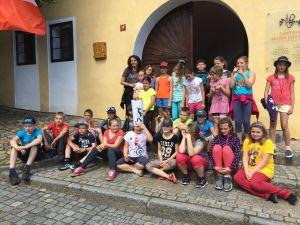 Školáci na výletě